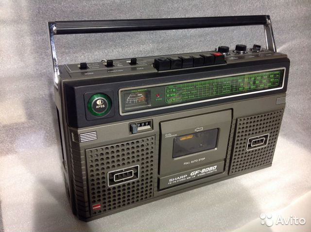 Sharp gf-8080 h