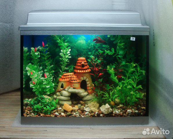 Воронеж: продаю аквариум 35 литров с крышкой