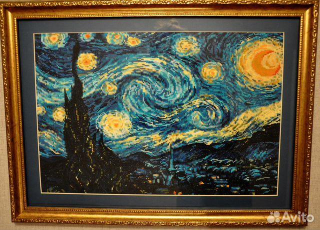 Ван Гог Звездная ночь картина,