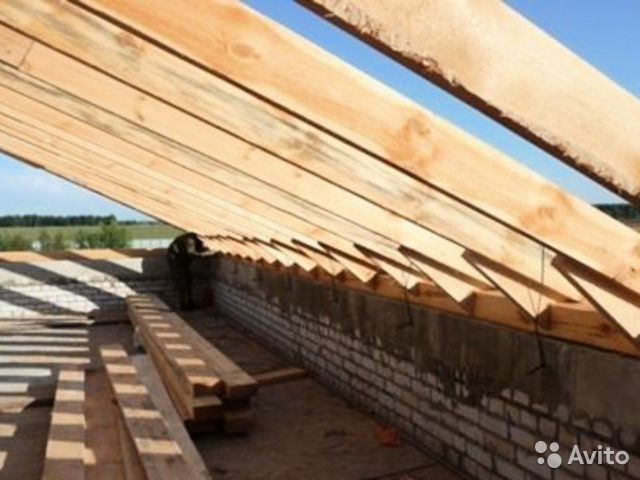 Строительство дома от фундамента до крыши своими