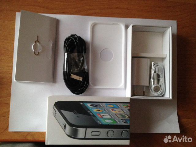 Смартфон Apple iPhone 4s 32GB Black в Санкт-Петербурге
