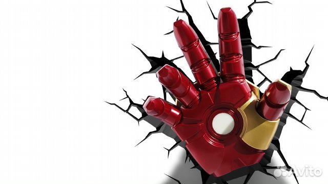 Рука железного человека видео