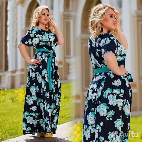Летние платья большие размеры