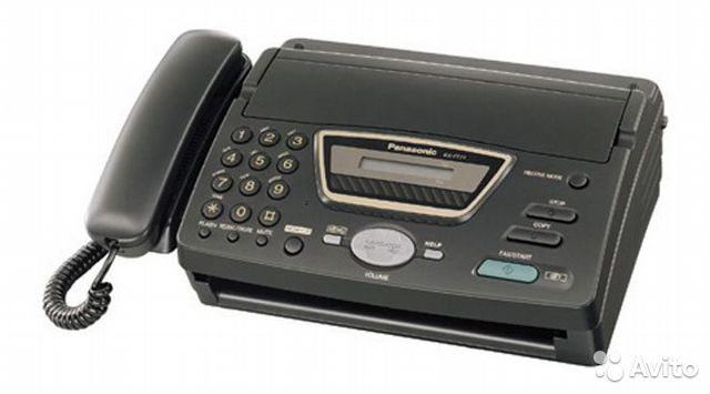 В продаже Продам факс Panasonic KX-FT72RU по лучшей цене c фотографиями и описанием, продаю в Томск...