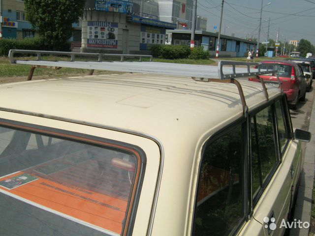 Багажник на крышу автомобиля на ваз 2104