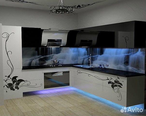 Дизайн кухни в 3d