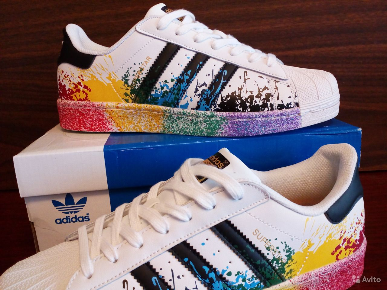 41d56246ce3e Adidas superstar кожаные кроссовки   Festima.Ru - Мониторинг объявлений