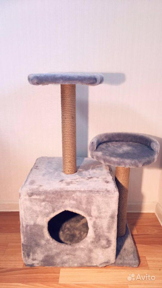 Домик когтеточка трехэтажный в Набережных Челнах - фотография № 1