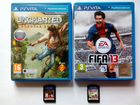 Uncharted-God of War-Fifa 13-Lego Marvel на PSvita