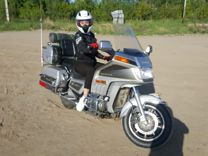 Honda GL1200 gold wing