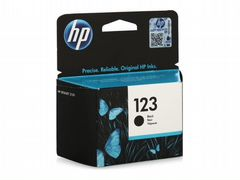 Картриджи HP 123 (F6V17AE) Black Ink