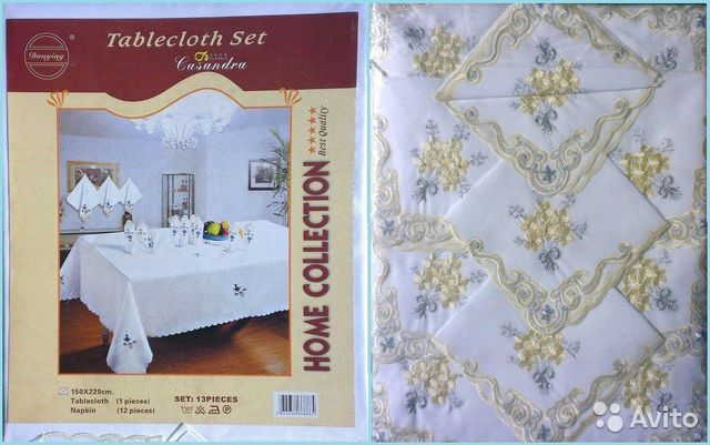 Tablecloth and 12 napkins 89514285412 buy 1