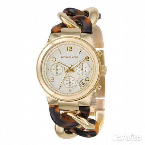 Женские часы michael kors золотистые