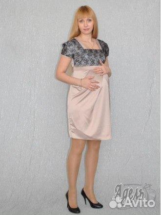 1a06b9bf77209f1 Праздничное платье для беременных купить в Санкт-Петербурге на Avito ...