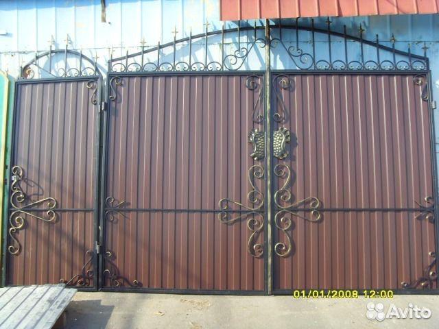 Заказать ворота и калитку в курске цена на двигатель для ворот faac