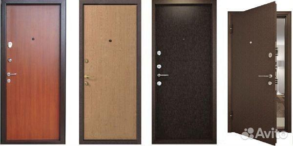 двери металлические входные уличные эконом в ногинске