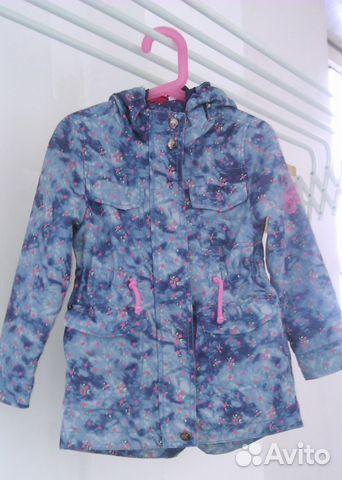 71ca711e0 Куртка-ветровка для девочки 4-5 лет (рост 110) | Festima.Ru ...