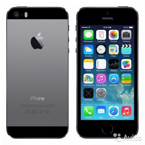 Apple iPhone 5S 64Gb Space Gray (REF) Без Touch ID