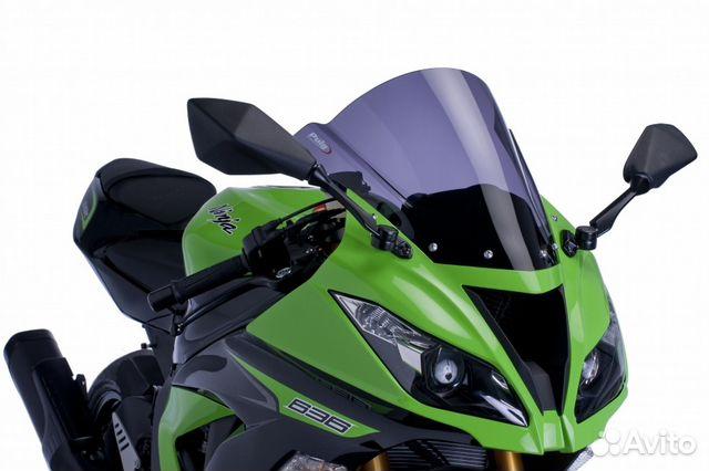 ветровое стекло Puig для Kawasaki Zx6r Zx10r купить в москве на