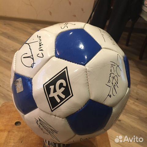 Продам футбольный мяч с подписями футболистов e4cb436b6706f