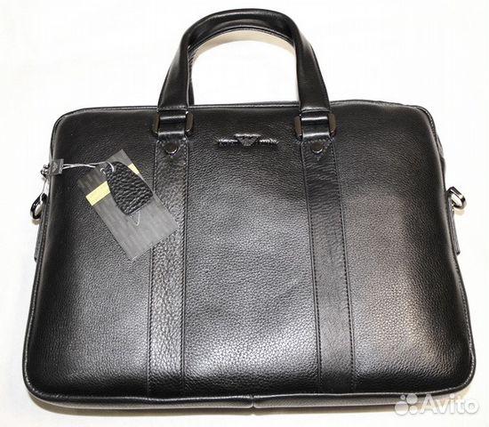 144922d10212 Мужская кожаная сумка портфель G Armani 2 отдела | Festima.Ru ...