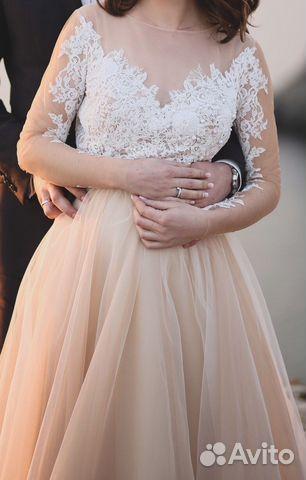 2cc439b8a3b Свадебное (вечернее) платье цвета айвори Papilio 2