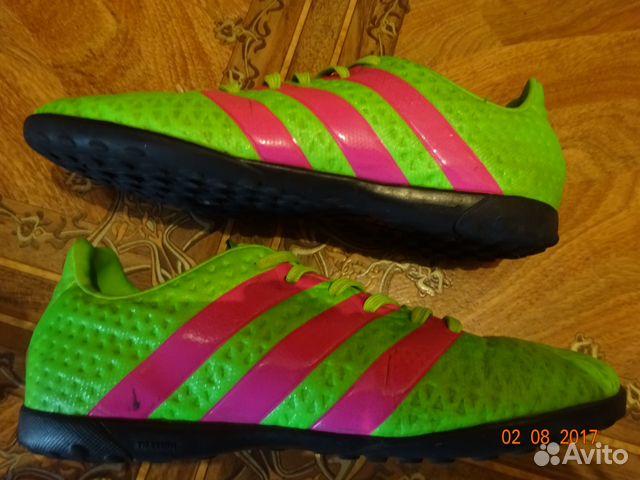 9da743ffca50 Детские футбольные бутсы сороконожки Adidas 35 р-р   Festima.Ru ...
