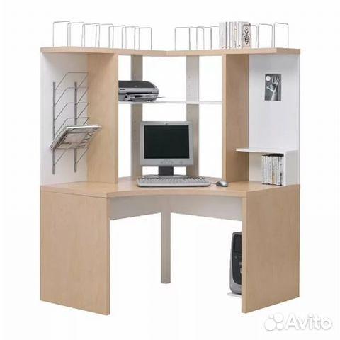 компьютерный стол угловой икеа Festimaru мониторинг объявлений