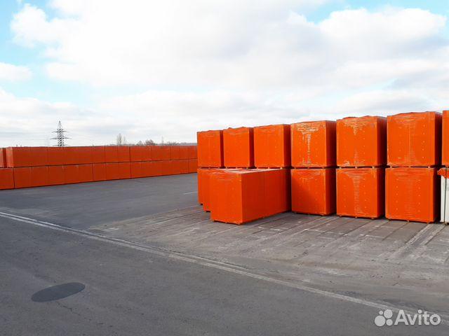 Газосиликатные блоки вксм Д-500 250*300*600