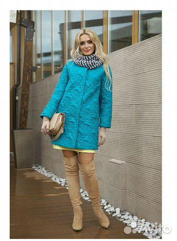 Демисезонное пальто р. 48-50 89206265449 купить 3