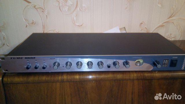 Предусилитель микрофонный Eurosound Tube-1800 89025697571 купить 1