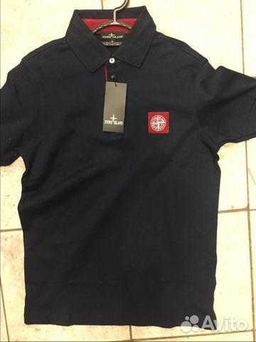 3f96c70aeb1b Рубашка поло Stone Island новая.Темно синяя   Festima.Ru ...