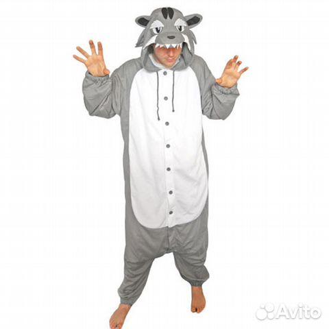 Кигуруми-пижама Серый Волк  cccd724c4507b