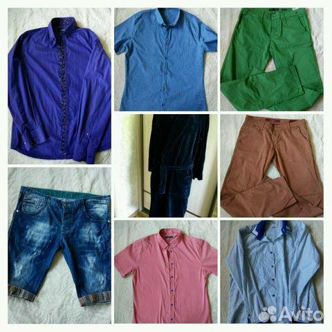 be6532173360 Мужская одежда р.48-50 купить в Ставропольском крае на Avito ...