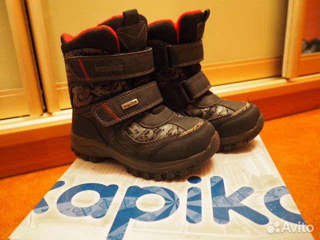 Обувь детская зимняя Kapika   Festima.Ru - Мониторинг объявлений 824d0afb228