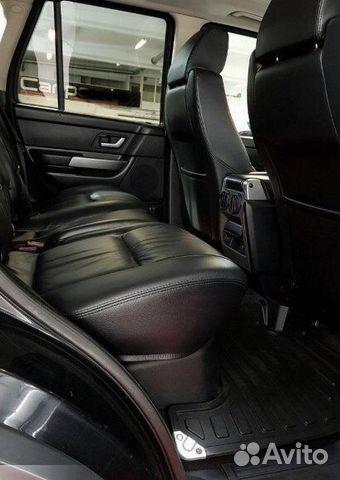 Salon torpedo Range Rover Sport 2008 black leather R