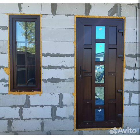 Теплая дверь в дом 2050 на 960  89835803090 купить 1