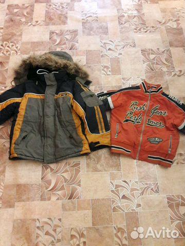 413750136aa Куртка зима на мальчика купить в Краснодарском крае на Avito ...