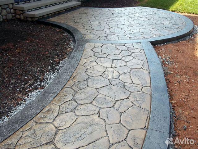 Купить печатный бетон москва чем очистить старый цементный раствор