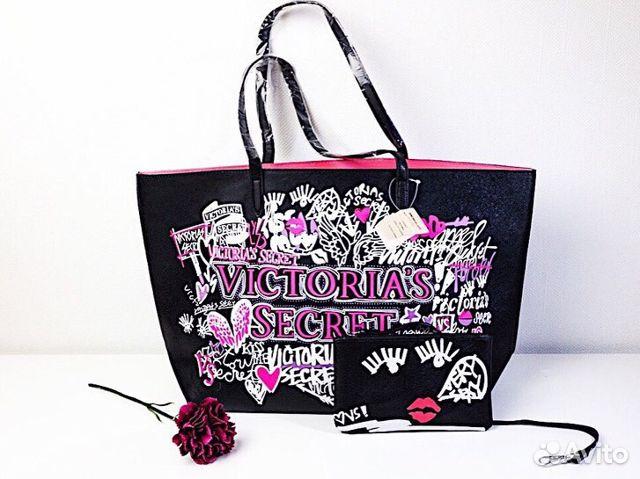 41a6fe604a3f4 Cумка + клатч Victoria's Secret купить в Москве на Avito ...
