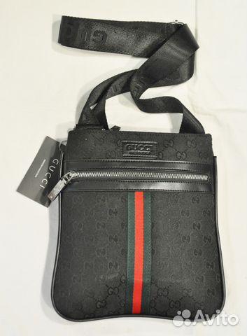 04979775f3bb Мужская сумка через плечо / Gucci / новая купить в Москве на Avito ...