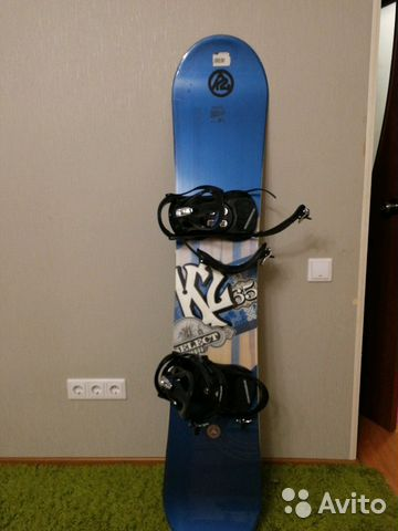 Сноуборд с креплением K2   Festima.Ru - Мониторинг объявлений af8bec9444d