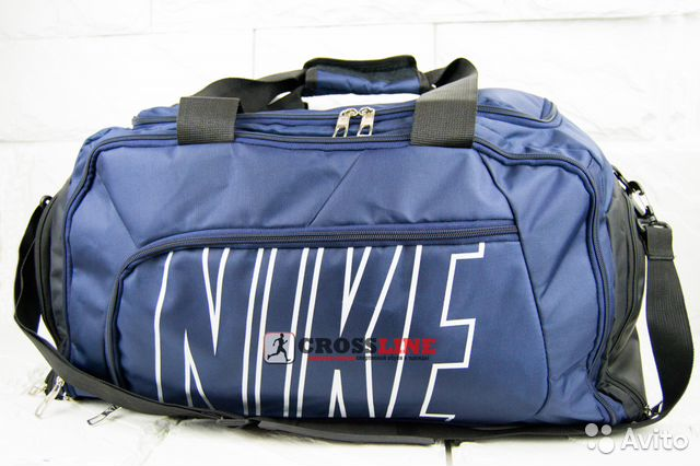 8738dd2e Сумка Nike синяя большая арт С013 | Festima.Ru - Мониторинг объявлений