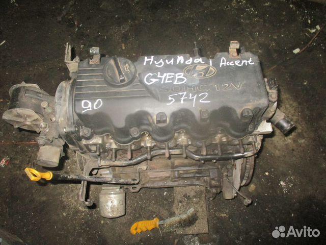 89657347629 Hyundai Accent 1.5 g4eb двигатель