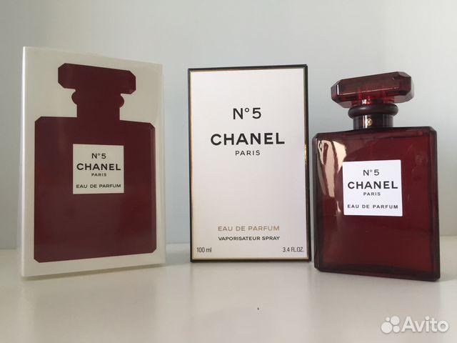 духи Chanel 5 Red Edition Eau De Parfum 100 мл