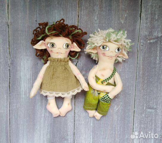 Кукла Эльфочка интерьерная 89617020393 купить 5