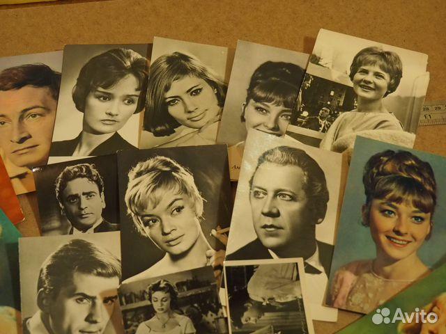 Продажа открыток актеров кино, осень