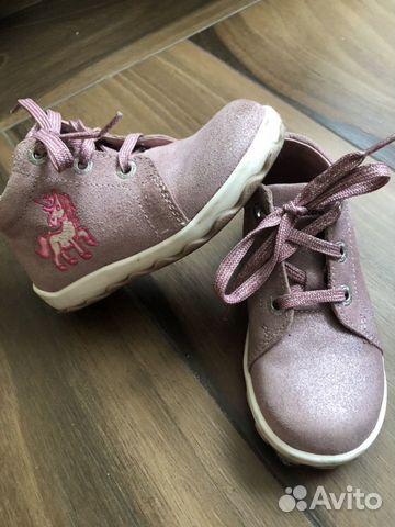 separation shoes 2c238 f1350 Замшевые ботинки Lurchi by Salamander 24 размер купить в ...
