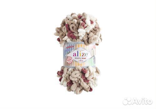 Пряжа Alize Puffy Fine Color