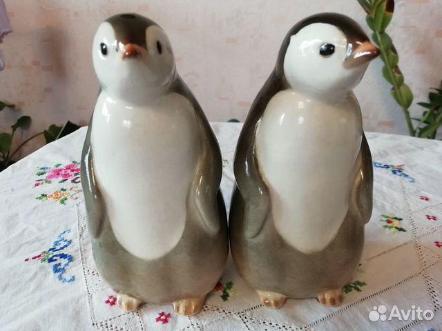 Фарфоровая статуэтка Пингвин лфз 89630945755 купить 2